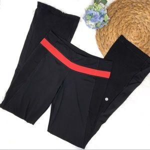 Lululemon Leggings Wet Dry Warm Yoga Pants 6